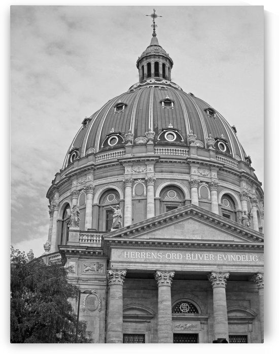 Grand Fredericks Church B&W by Gods Eye Candy