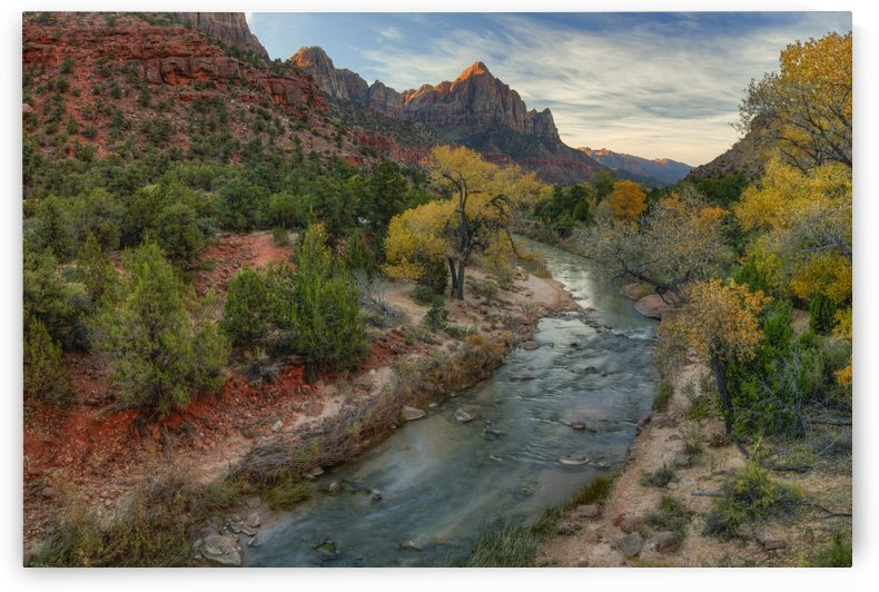 AUTUMN AT ZION by Bill Sherrell
