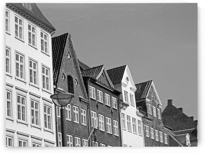 Buildings of Denmark B&W by Gods Eye Candy