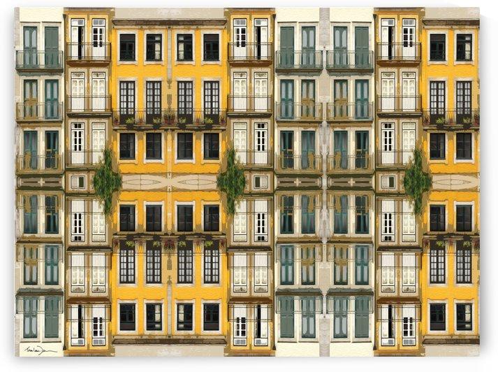 Porto - Les fenêtres by Jean-Louis Desrosiers