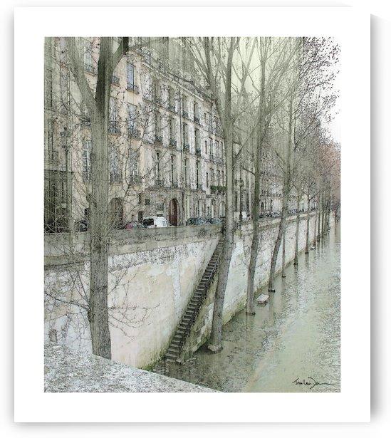 Paris - Ile St Louis by Jean-Louis Desrosiers