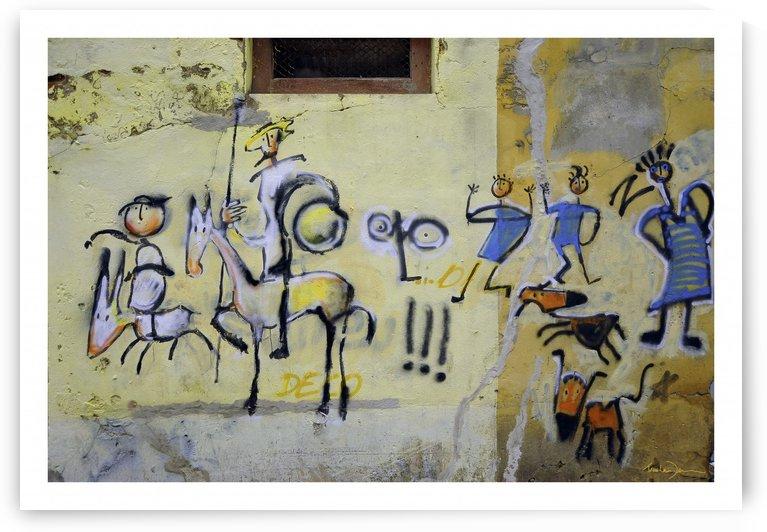 Aveiro - Don Quichotte by Jean-Louis Desrosiers