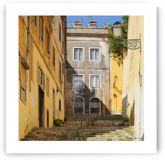 Lisbonne - Apparition de Kafka by Jean-Louis Desrosiers