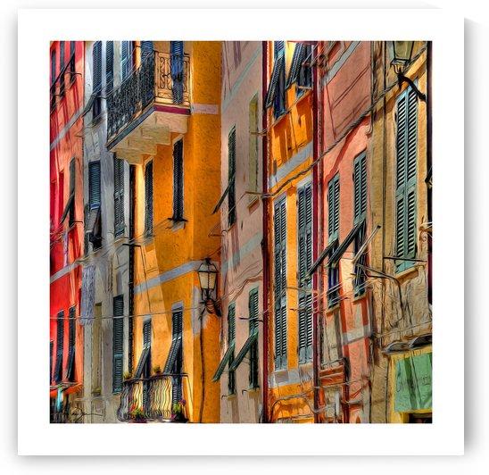 Vernazza Italie by Jean-Louis Desrosiers