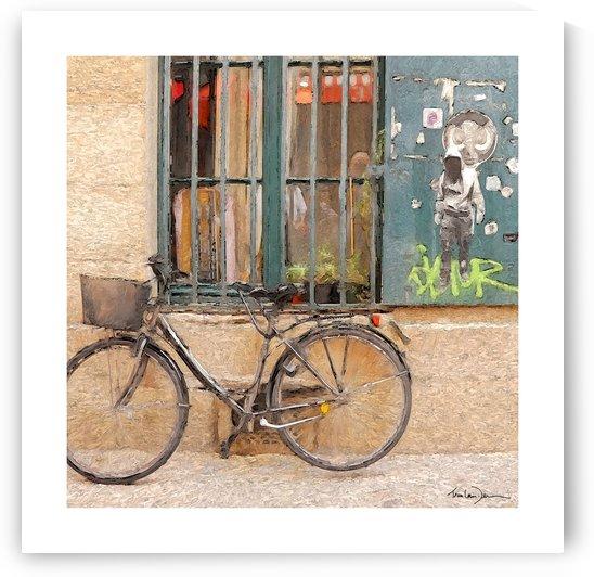 Paris - Le vélo by Jean-Louis Desrosiers