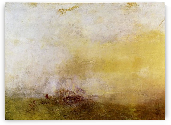 Sunrise with Sea Monsters by Joseph Mallord Turner by Joseph Mallord Turner
