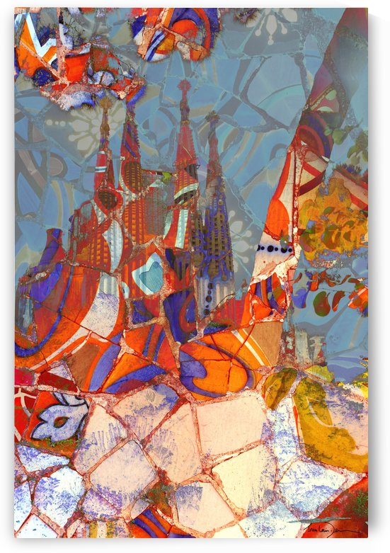 Sagrada Familia Barcelone 24x36 by Jean-Louis Desrosiers