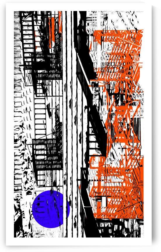 New York SoHo  by Jean-Louis Desrosiers