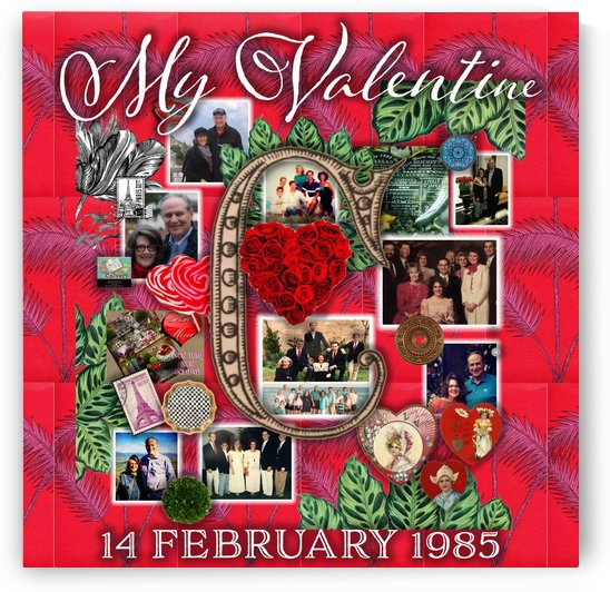 Valentine Design by Nancy Calvert