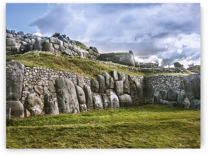 Sacsayhuaman Inca Fortress, Cusco, Peru by Daniel Ferreia Leites Ciccarino