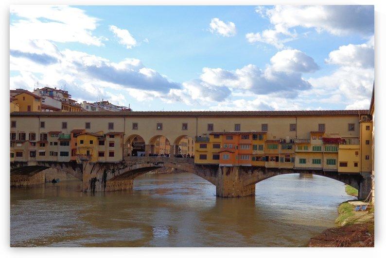 Ponte Vecchio by ANASTASIA SKARLATOUDI