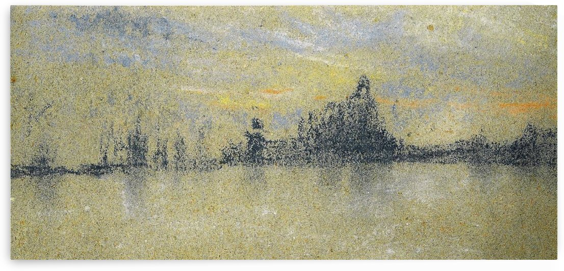 Sunset, Venice by Whistler by Whistler