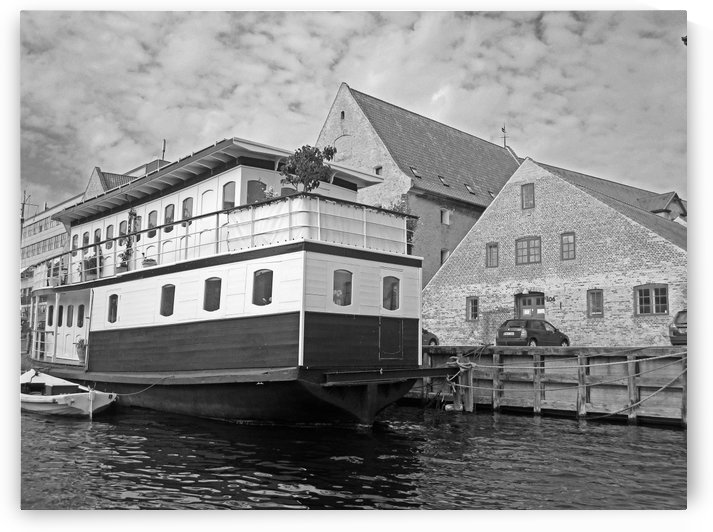 Docked B&W by Gods Eye Candy