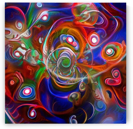Vortex of Colors by Bruce Rolff