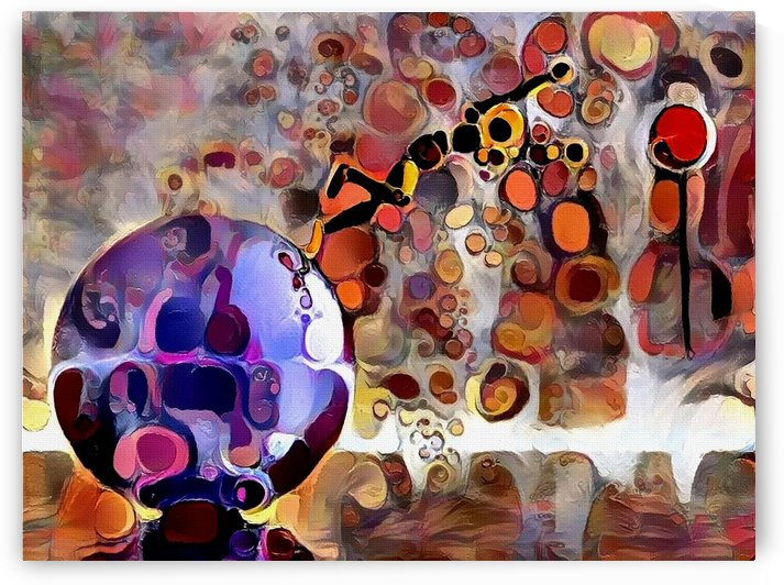 Colorful Abstract by Bruce Rolff