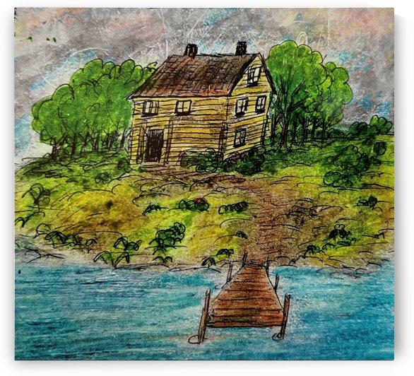 Old Cottage  by djjf