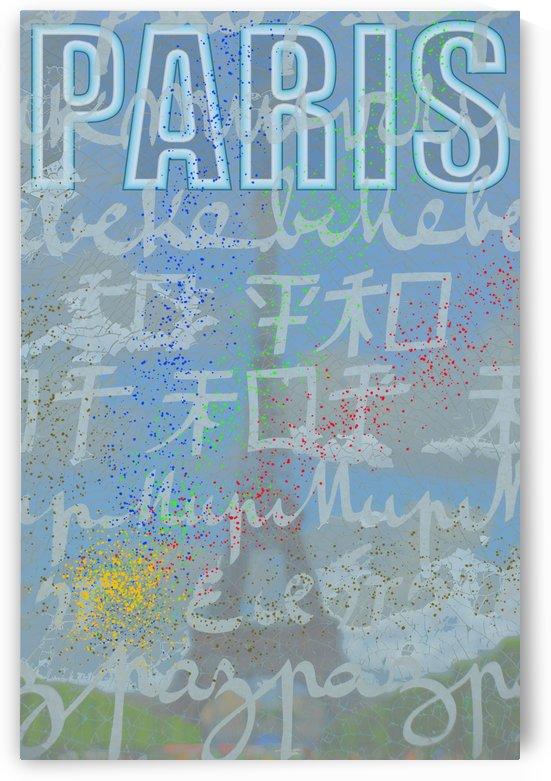 Affiche Paris by Jean-Louis Desrosiers