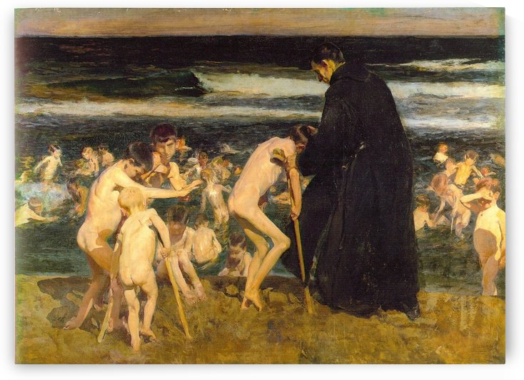 Triste Herencia by Joaquin Sorolla