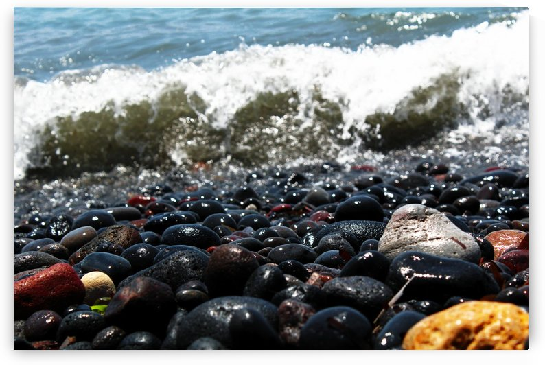 Beach Rocks by Bentivoglio