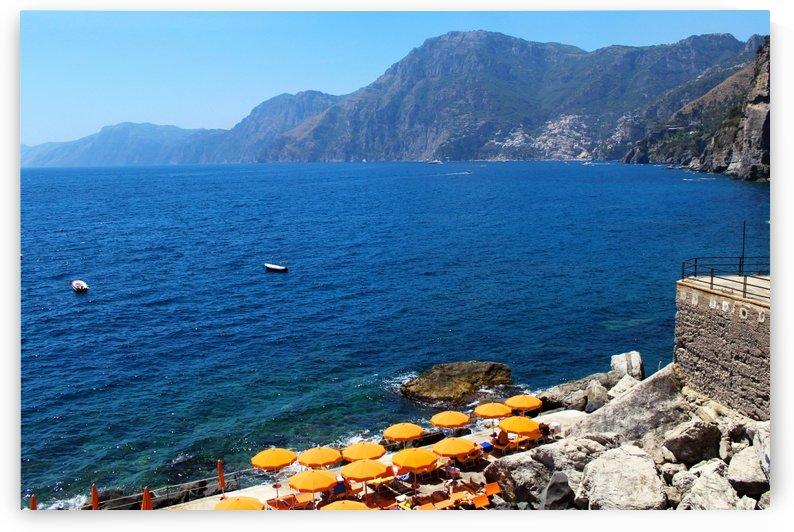 Praiano Beach Landscape - Amalfi Coast by Alessandro Ricardo Bentivoglio Uva