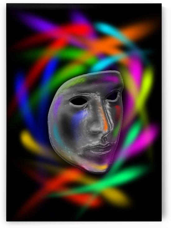 Rainbow Mask by Ann Ciarico