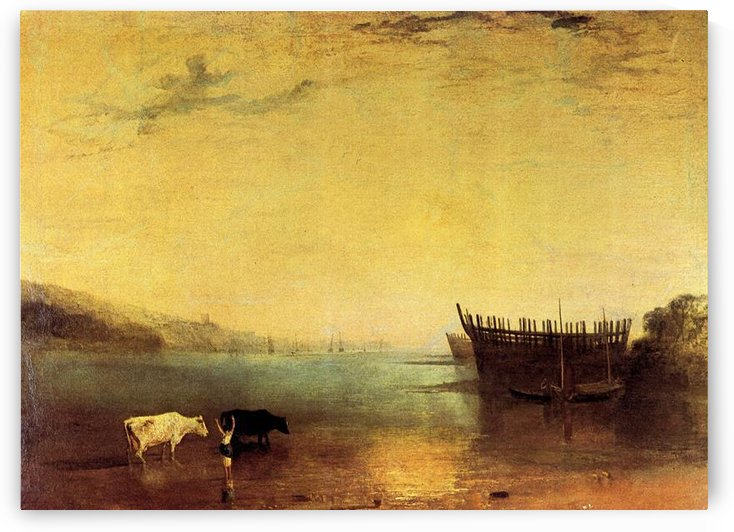 Teignmouth by Joseph Mallord Turner by Joseph Mallord Turner
