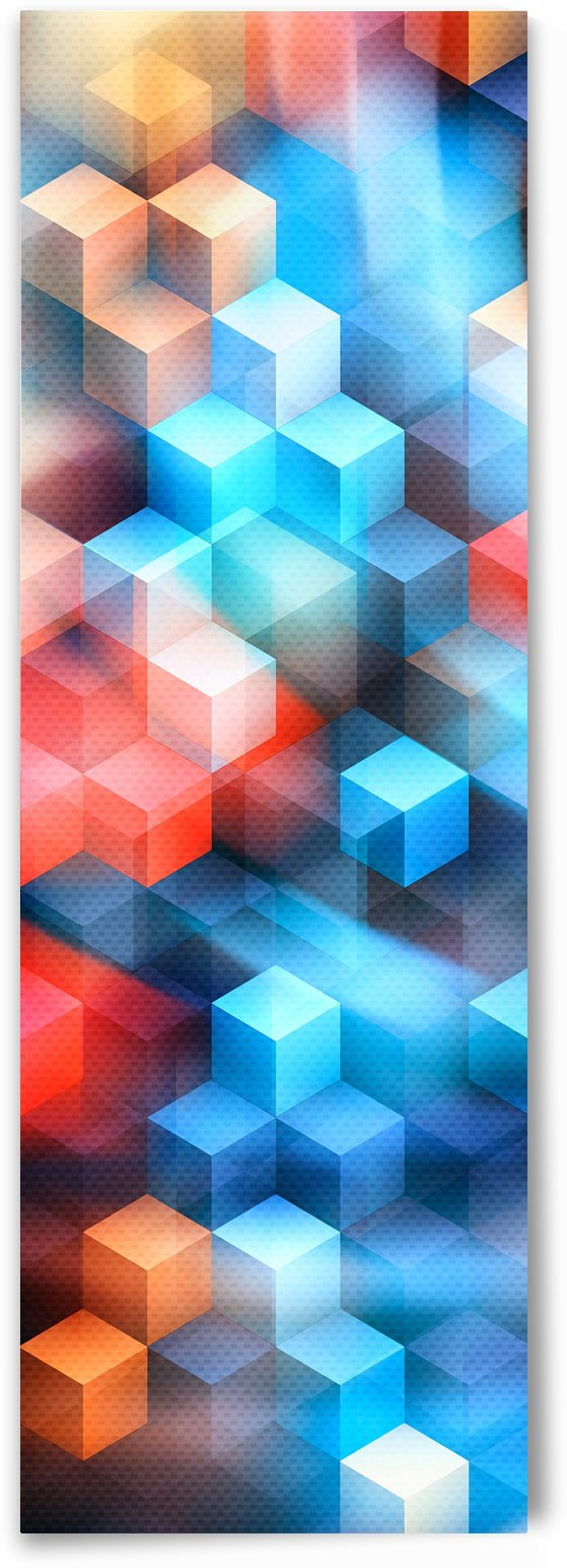 Abstract Design I   Panoramic by Art Design Works