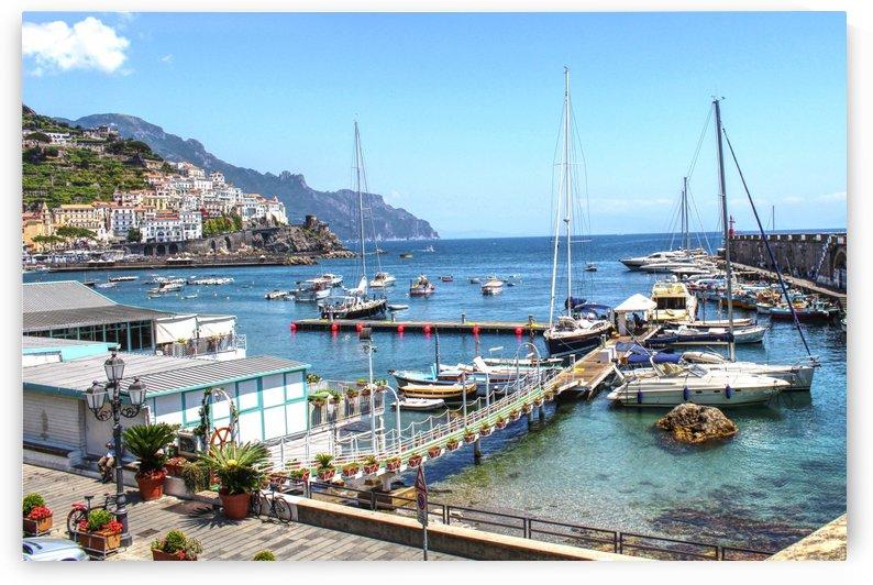 landscape - Blue ocean - Italy by Bentivoglio Photography