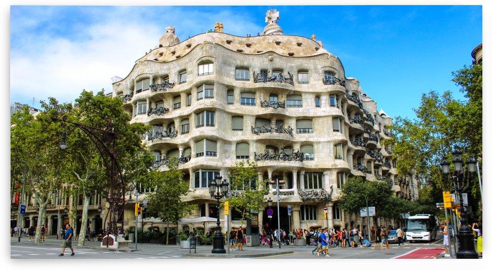 Casa Battlo   Barcelona Landmark   Panoramic by Bentivoglio