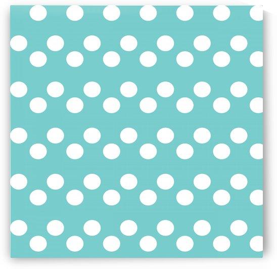 Dark Slate Gray Polka Dots by rizu_designs