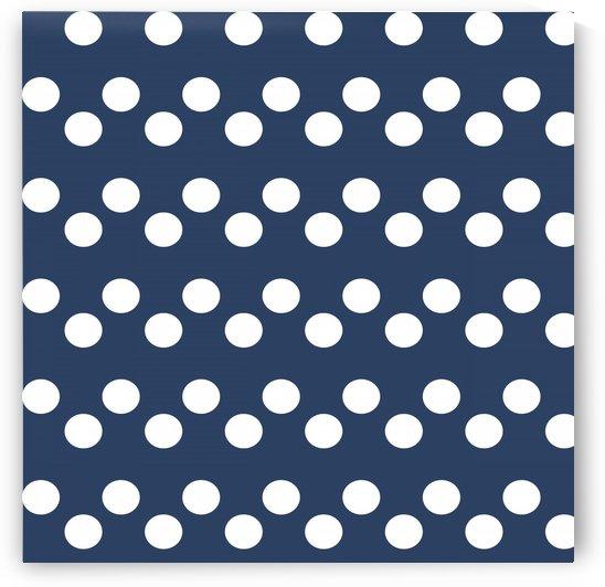 Indigo Polka Dots by rizu_designs
