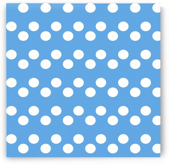 CORNFLOWER Polka Dots by rizu_designs