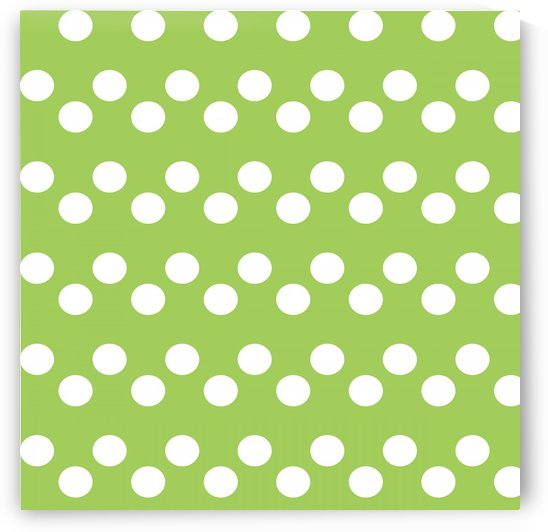 Dark Olive Green Polka Dots by rizu_designs