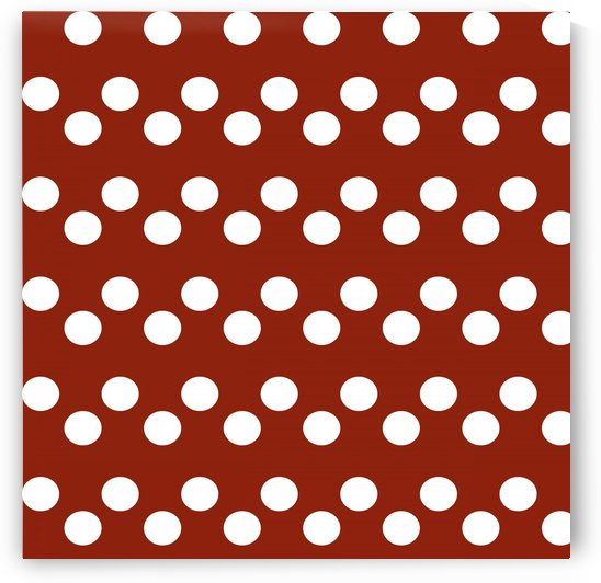 Crimson Polka Dots by rizu_designs