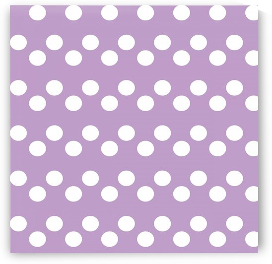 Crocus Petal Polka Dots by rizu_designs