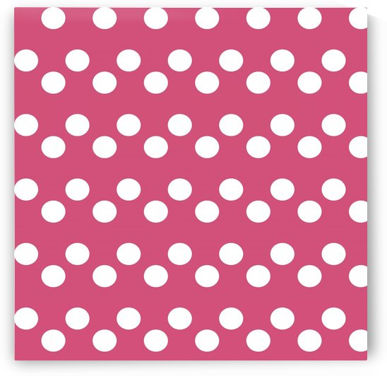 CRANBERRY Polka Dots by rizu_designs