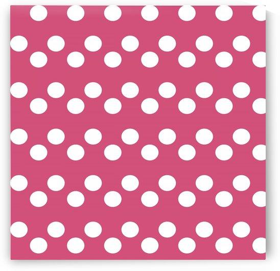 CRANBERRY Polka Dots by rizu_designs