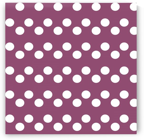 BURGUNDY Polka Dots by rizu_designs