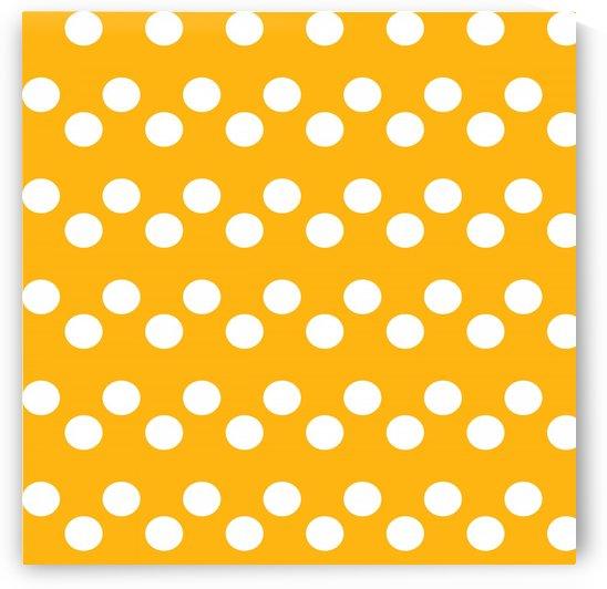 SUNFLOWER Polka Dots by rizu_designs