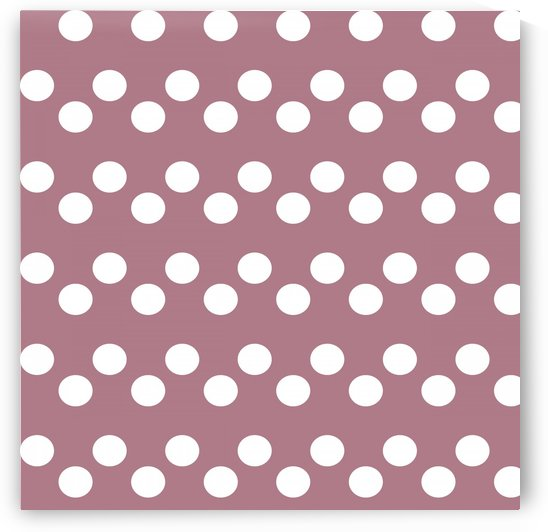 ROSY BROWN Polka Dots by rizu_designs