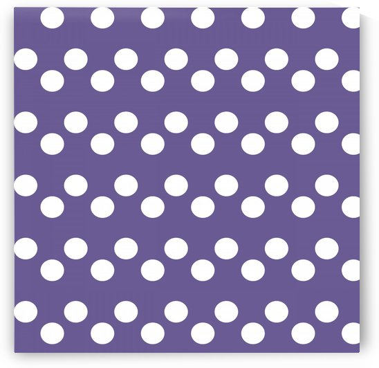 Ultra Violet Polka Dots by rizu_designs
