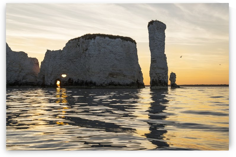OLD HARRY ROCKS 2  by ANDREW LEVER GALLERY