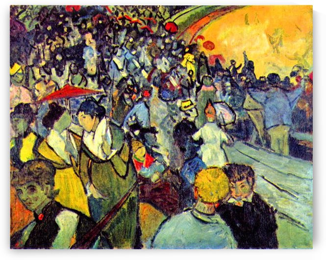 The arenas of Arles by Van Gogh by Van Gogh