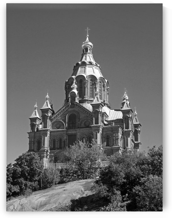 Uspenski Cathedral B&W by Gods Eye Candy