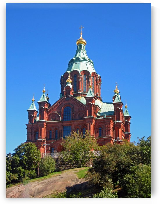 Uspenski Cathedral by Gods Eye Candy