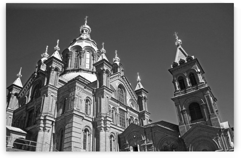 Large Cathedral B&W by Gods Eye Candy