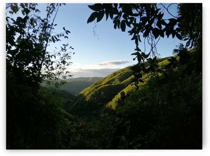 Mountains in a morning  by Karen