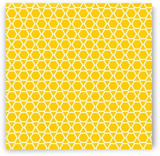 Yellow  Islam Art by rizu_designs
