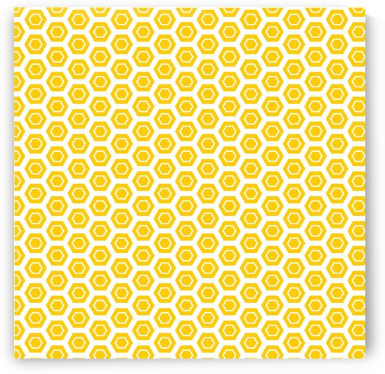 Yellow  Hexagen by rizu_designs