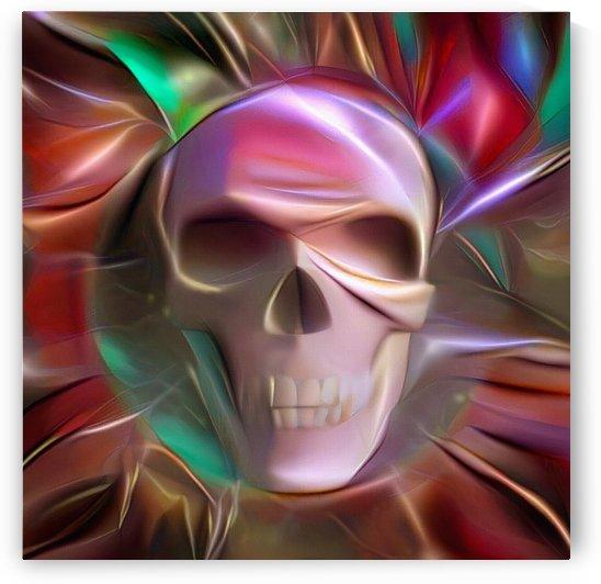 Glowing Skull by Bruce Rolff